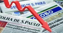 """Com quedas seguidas na circulação, """"velha mídia"""" impressa ruma para a derrocada final"""