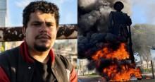 URGENTE: Justiça determina prisão do terrorista que participou do incêndio em estátua de Borba Gato
