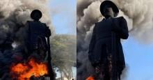 """Terrorismo contra a estátua de Borba Gato e o simbolismo que a velha imprensa tentou """"mascarar"""""""