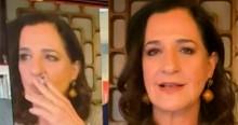 Ao vivo, jornalista da Globo é flagrada fumando e web não perdoa (veja o vídeo)