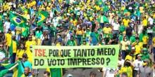 Povo na rua exige eleições democráticas!