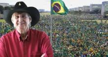 Liderados por Sérgio Reis, artistas patriotas convocam o povo para Megamanifestação dia 7 de setembro (veja o vídeo)