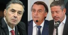 """Bolsonaro faz revelações e Lira faz forte declaração contra TSE: """"Não vai se aceitar que a Justiça Eleitoral legisle"""""""