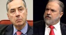 """Aras """"joga água no chopp"""" de Barroso"""