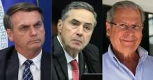 Bolsonaro detona comentário de Barroso e o compara a frase golpista de Dirceu (veja o vídeo)