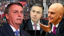 AO VIVO: Bolsonaro quer Moraes e Barroso fora do STF / Europeus se levantam contra a tirania do passaporte sanitário (veja o vídeo)