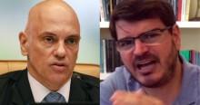 """""""Vão ter que prender muito mais gente, intimidar, porque não está dando certo!"""", dispara Constantino contra Moraes (veja o vídeo)"""