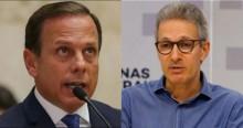 """Romeu Zema faz forte desabafo e escancara """"politicagem barata"""" de Doria (veja o vídeo)"""