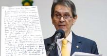 """Exclusivo: Roberto Jefferson escreve nova carta da prisão e aciona """"metralhadora giratória"""" (leia a carta)"""