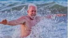 O ato final da desastrada viagem de Lula ao Nordeste: O banho de mar e a revolta da população (veja o vídeo)