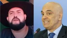 Zé Trovão prossegue gravando vídeos, ataca Moraes e faz apelo para a Polícia Federal (veja o vídeo)