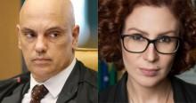 Carla Zambelli publica charge com Alexandre de Moraes e dá o tom do 7 de setembro