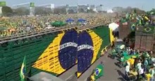 """Multidão """"toma"""" Brasília, impressiona e faz 7 de setembro de 2021 entrar para a história (veja o vídeo)"""