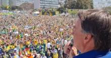 """URGENTE – Em Brasília, Bolsonaro dá ultimato: """"Ou se enquadra ou pede pra sair""""! (veja o vídeo)"""