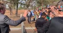O dia seguinte: O povo não arredou o pé de Brasília e recepcionou Bolsonaro com grande festa no Alvorada (veja o vídeo)