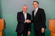 Sobre Bolsonaro ter chamado Temer para conversar... O resumo da conversa que não querem te contar