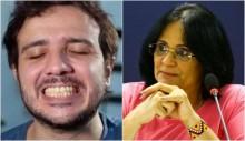 Damares pedirá ao Ministério Público investigação contra Renan Santos por Apologia ao estupro