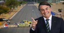 """Após fiasco das manifestações do dia 12, Bolsonaro não perdoa: """"Digna de pena"""" (veja o vídeo)"""