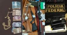 Polícia Federal vai pra cima do Comando Vermelho e apreende carros, avião, joias e dinheiro