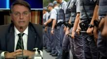 """Bolsonaro e o veto a quarentena: """"O cara sai da cadeia e pode ser candidato à Presidência e militar não pode ser candidato a vereador"""" (veja o vídeo)"""