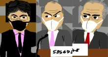 Vídeo icônico viraliza na web e escancara as artimanhas de Aziz, Renan e Randolfe (veja o vídeo)