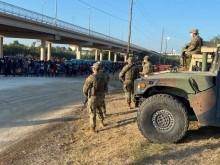 Imigrantes haitianos invadem o Texas, nos Estados Unidos