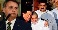"""Bolsonaro expõe o conchavo petista com a Venezuela e revela """"rombo"""" nos cofres públicos (veja o vídeo)"""