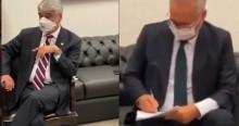 Cúpula da CPI é flagrada assistindo discurso de Bolsonaro e vira chacota nacional (veja o vídeo)