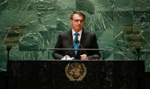Bolsonaro at UN: Everybody wants to the rule the world
