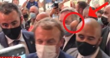 """URGENTE: Macron paga o preço da impopularidade e leva """"ovada"""" em evento (veja o vídeo)"""