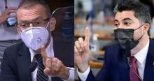 "Na CPI, senador dá ""chilique"", ataca Bolsonaro e leva resposta desmoralizante de Marcos Rogério (veja o vídeo)"