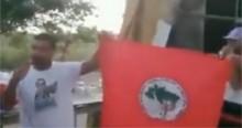 """Bandeira do MST é destruída por """"ex sem-terra arrependido"""" e Bolsonaro repercute (veja o vídeo)"""