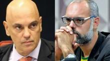 """Moraes age novamente e determina que a PF ouça """"fonte"""" no STF do jornalista Allan dos Santos"""