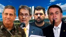 """AO VIVO: Forças Armadas no processo eleitoral / """"O Brasil está dando certo"""", afirma Bolsonaro (veja o vídeo)"""