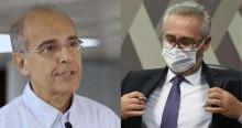Em atitude inconsequente, Renan inclui presidente do CFM como investigado em CPI (veja o vídeo)