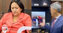Coronel denuncia desperdício de centenas de litros de leite, por ordem do governo do PT no RN (veja o vídeo)