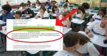 "Absurdo: Escola ensina alunos a ""calcularem cocaína"" (veja o vídeo)"