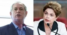 """Fogo na """"Esquerdalha"""": Dilma e Ciro trocam acusações na web e escancaram o """"desespero"""""""