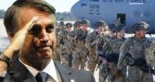 Para exercício conjunto com Exército Brasileiro, Bolsonaro autoriza entrada de militares dos EUA