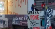 Um rastro de destruição e ideologia de esquerda no ataque do MST a sede da Aprosoja (veja o vídeo)