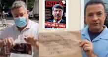 IstoÉ publica capa criminosa, recebe dura resposta e é censurada pelo povo nas ruas (veja o vídeo)