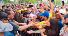 Ao vivo, multidão faz festa monumental para receber Bolsonaro em MG (veja o vídeo)