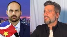 Eduardo Bolsonaro não perde a piada e satiriza Bruno Gagliasso