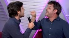Em discussão violenta, Adrilles sofre ataque, diz duras verdades na cara de Joel e o desmoraliza (veja o vídeo)