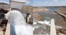 Emocionado, morador do sertão grava a chegada das águas do São Francisco e agradece a Bolsonaro (veja o vídeo)