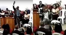 Pastor tem AVC dentro de igreja e morre após cantar 'não deixe um soldado ferido morrer' (veja o vídeo)