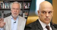 """""""Agora os americanos vão ter certeza de que há prisioneiro político no Brasil"""", diz Alexandre Garcia sobre extradição de Allan dos Santos (veja o vídeo)"""