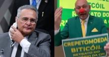 """Hang rebate acusações de CPI e mostra a verdadeira face de Renan: """"o senador do bitcoil e da creptomoeda"""" (veja vídeo)"""