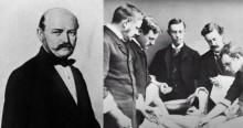 No passado, lavar as mãos era negacionismo: A incrível história do Dr. Ignaz Semmelweis (veja o vídeo)
