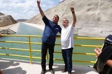 Em Pernambuco, o Governo Bolsonaro entrega a maior obra de infraestrutura hídrica do estado